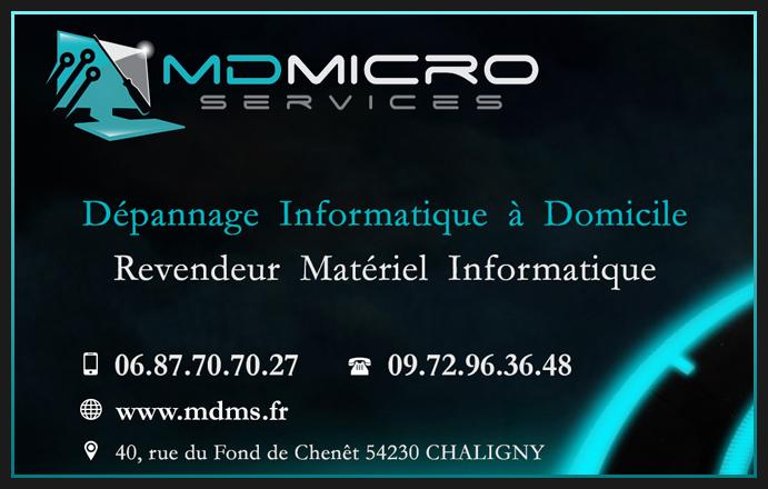 MD Micro Services Depannage Informatique A Domicile